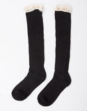 Ruffle Knee High Socks