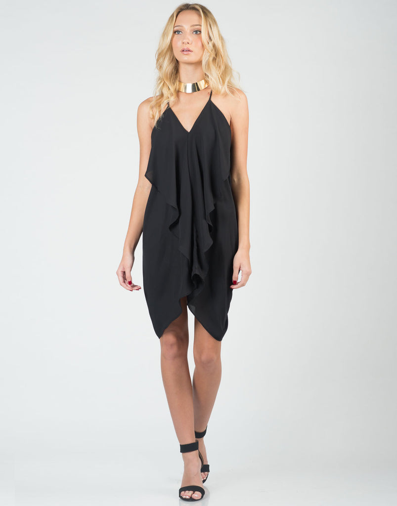Ruffle Party Dress - 2020AVE