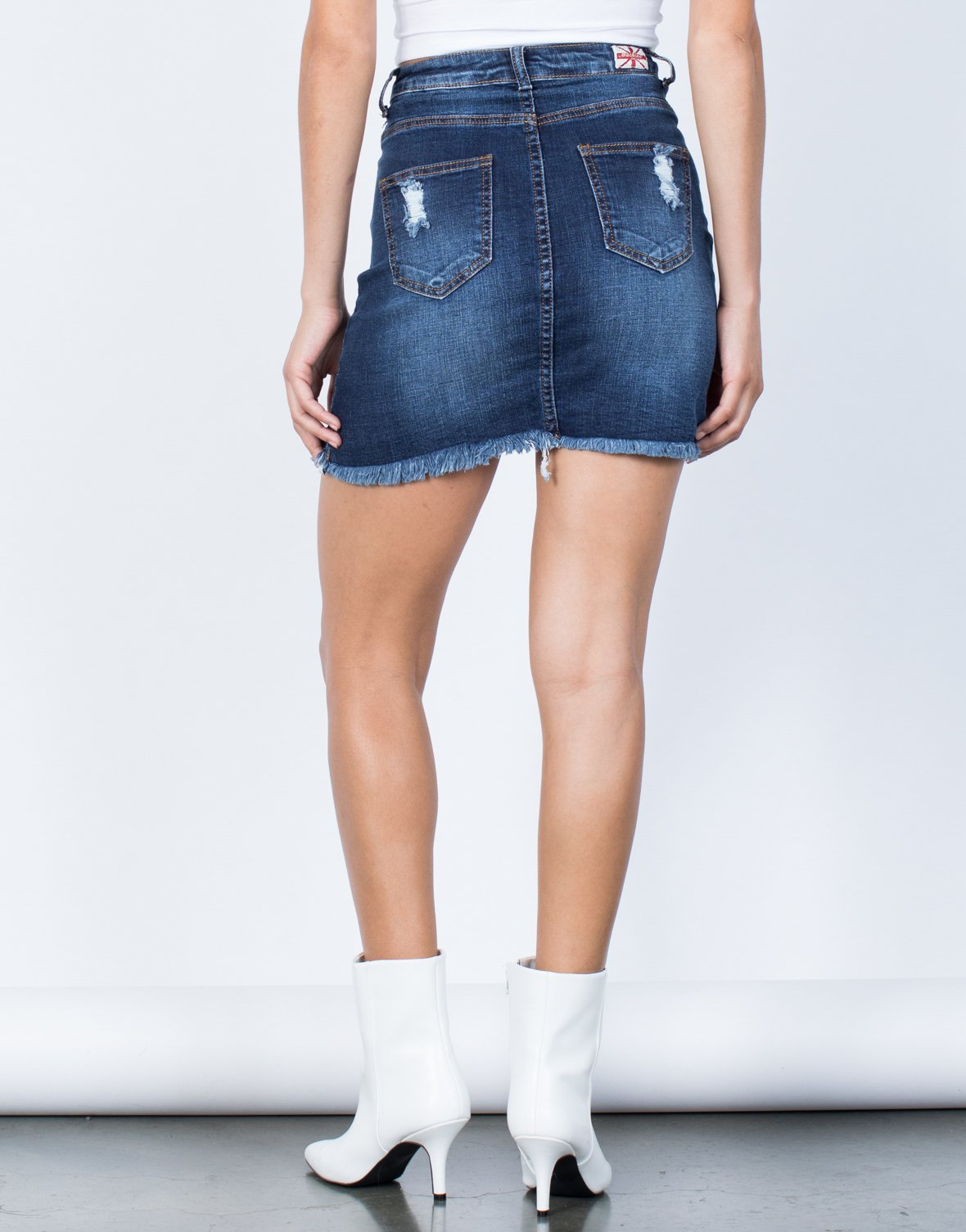 Rylee Denim Skirt - 2020AVE