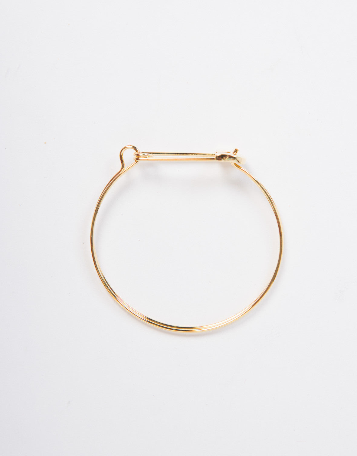 Safety Pin Bracelet Cuff
