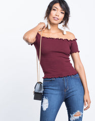 Sarah Frilly Top