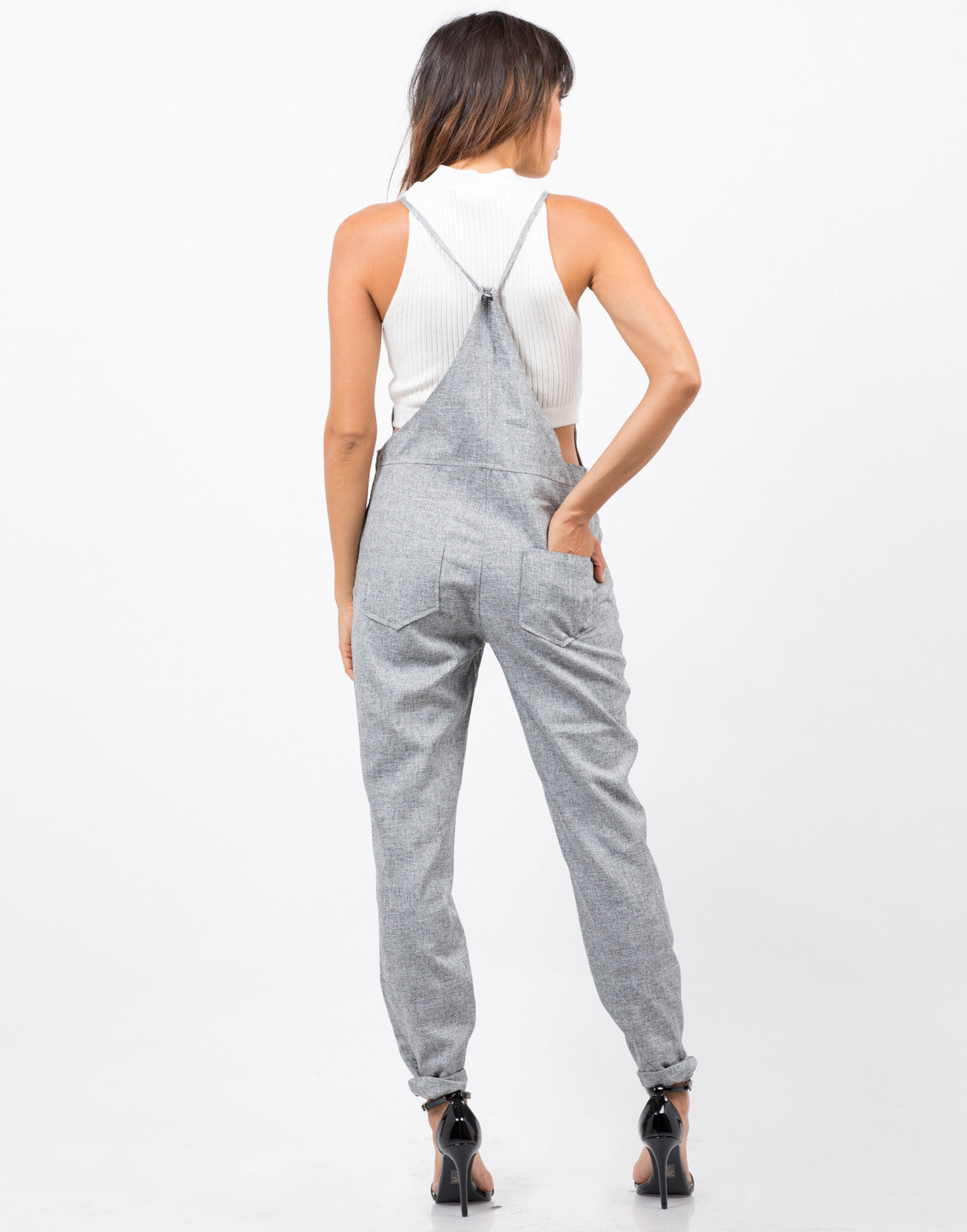 Back View of Sartorial Overalls