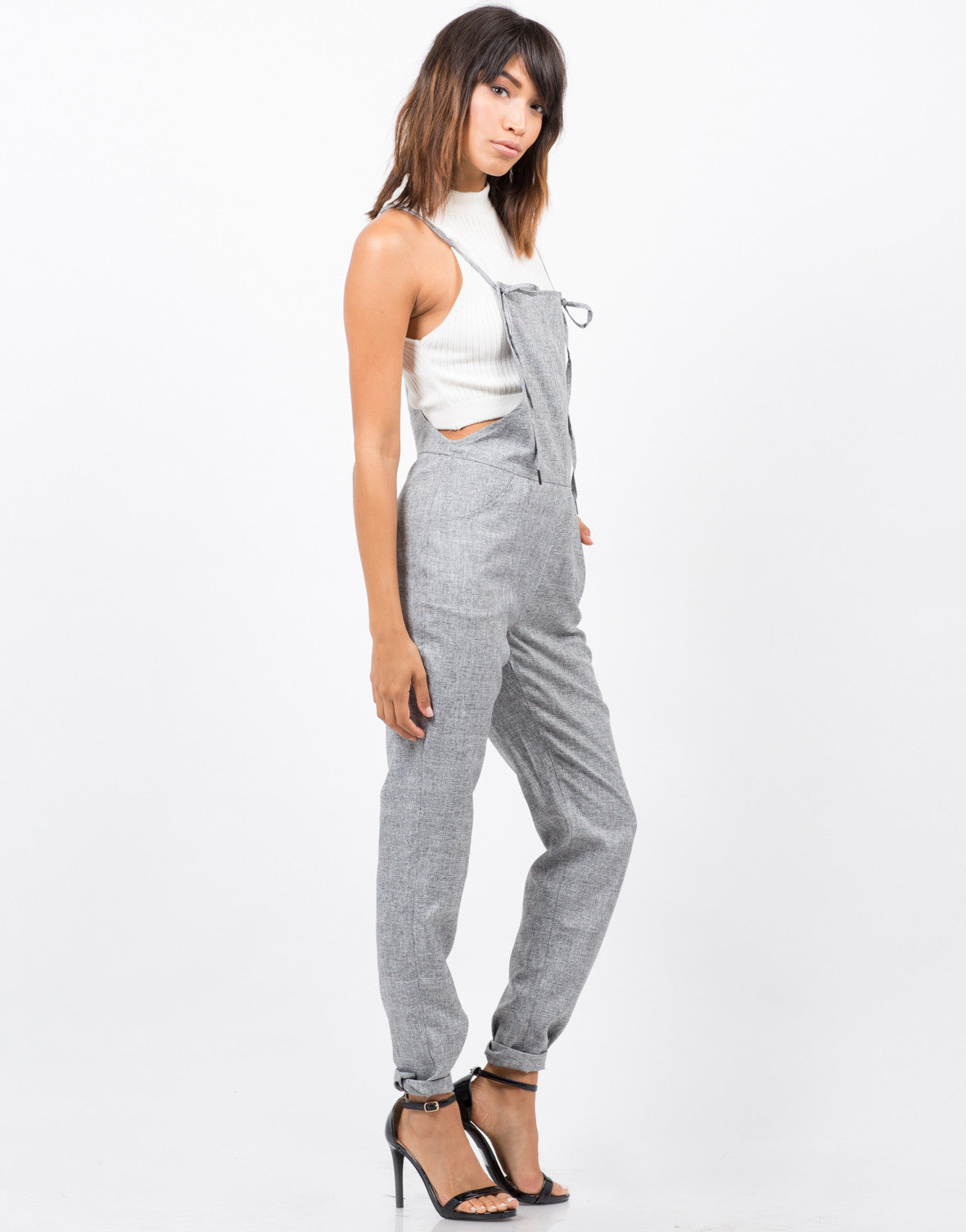 Side View of Sartorial Overalls