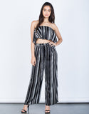 Satin Nights Striped Pants - 2020AVE