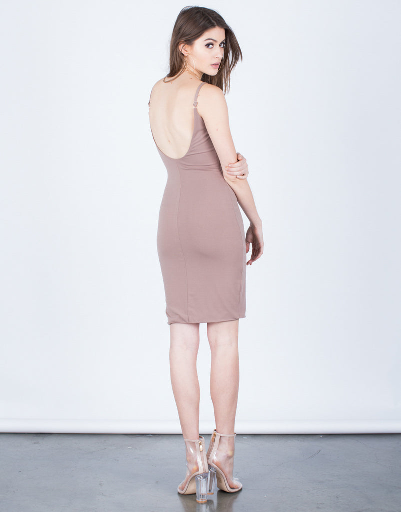 Scoop Back Party Dress - 2020AVE