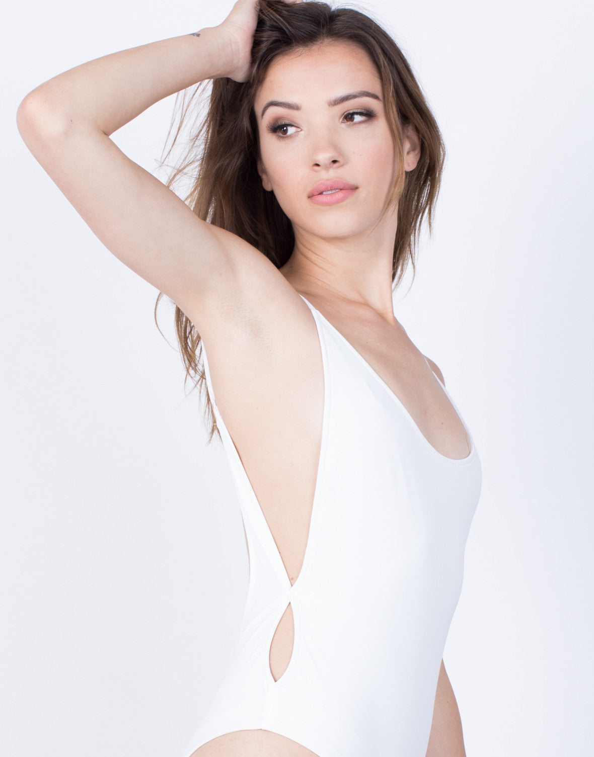 Detail of Scoop Me Up Bodysuit