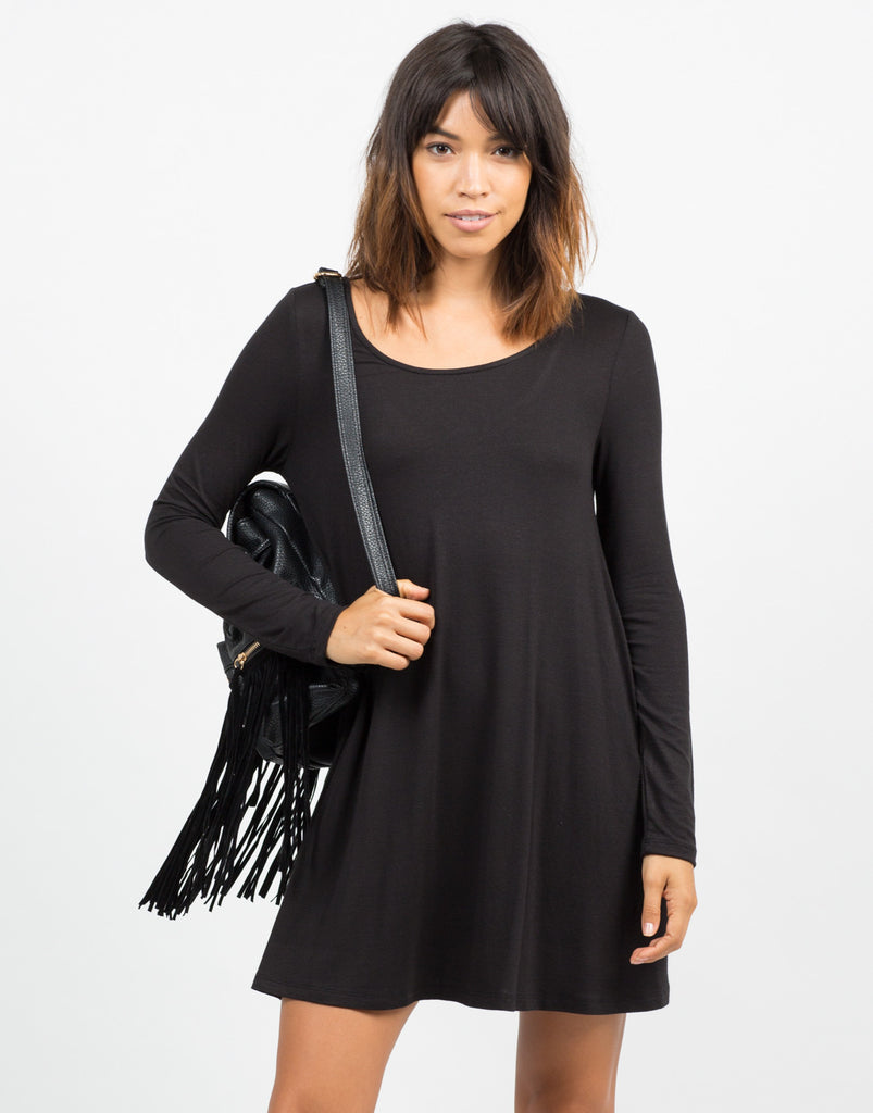 Scoop Back Everyday Dress - 2020AVE