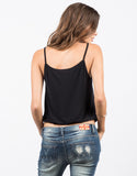 Back View of Scrunched Bottom Cami