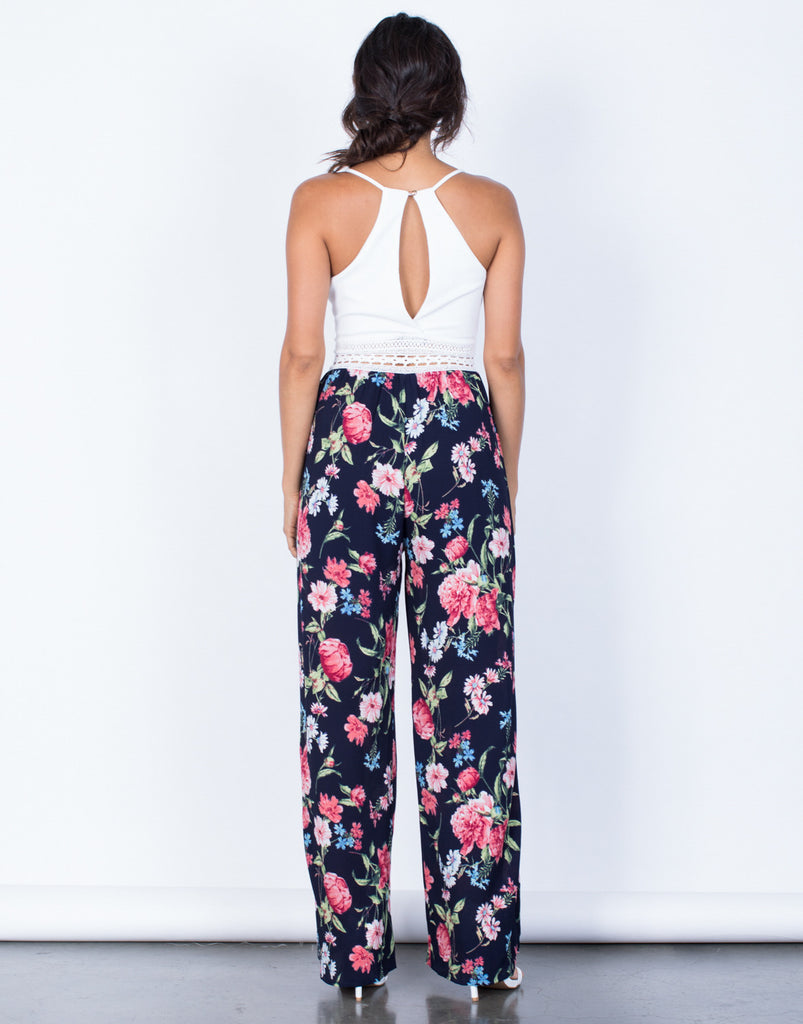 Back View of Secret Admirer Jumpsuit