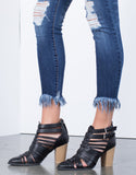 Shaggy Frayed Jeans - 2020AVE