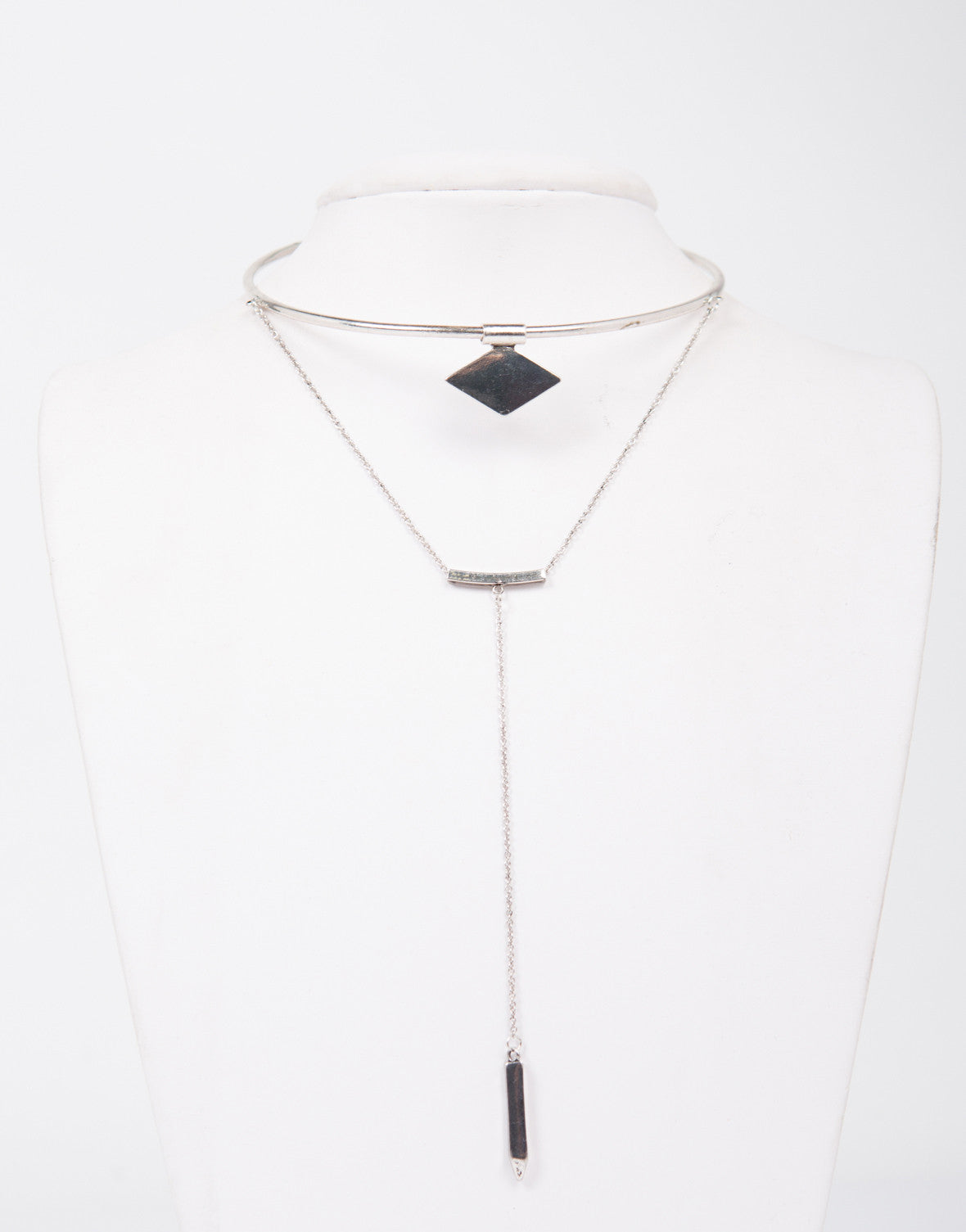 Shaped Collar Layered Necklace