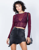 Sheer Vibes Lacey Top - 2020AVE