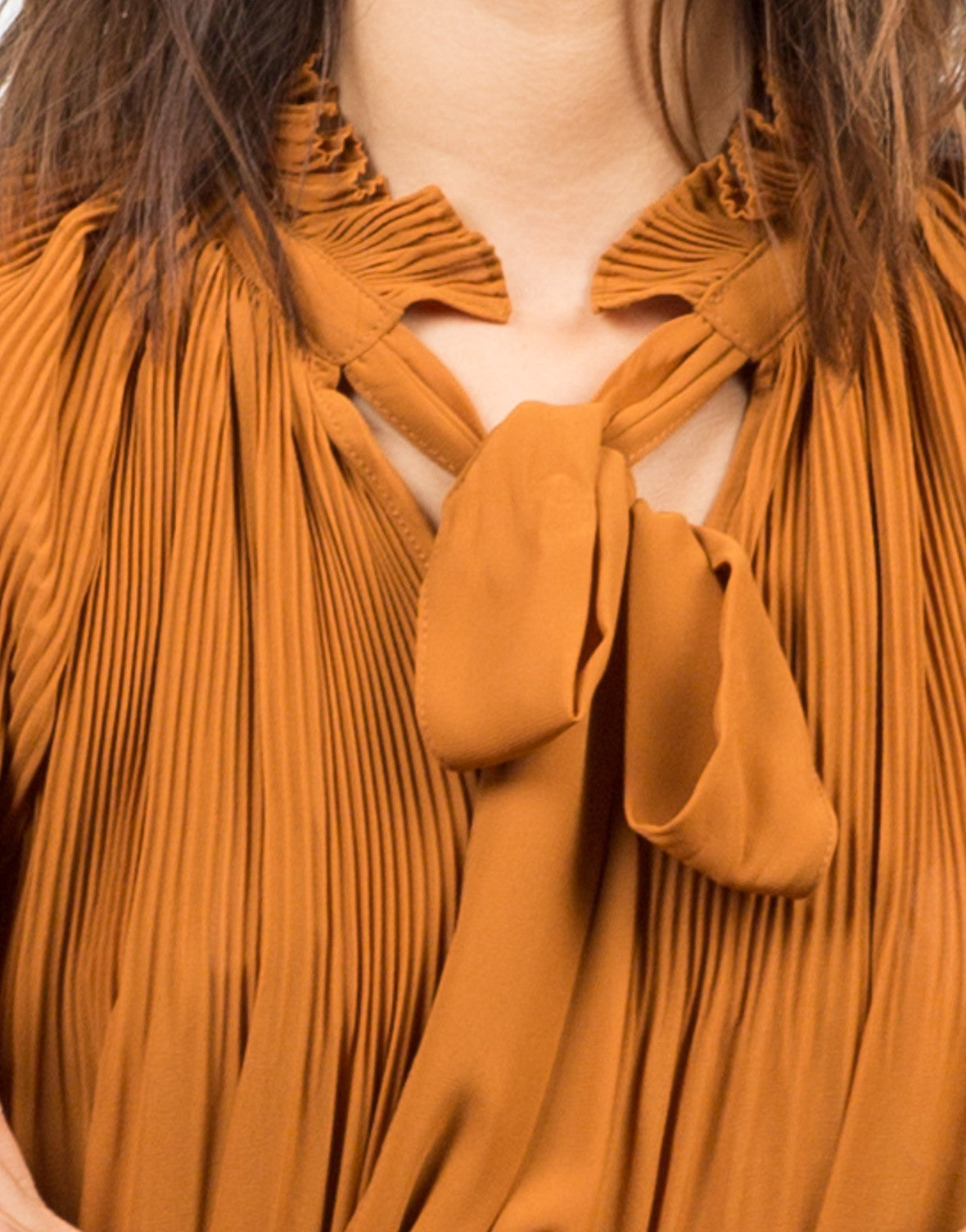 Detail of Sheer Woven Blouse