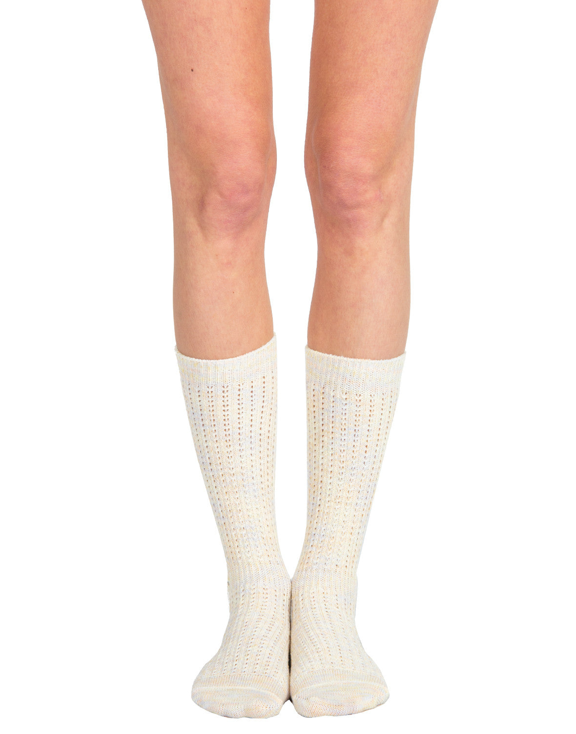 Sherbet Knee High Socks - Peach