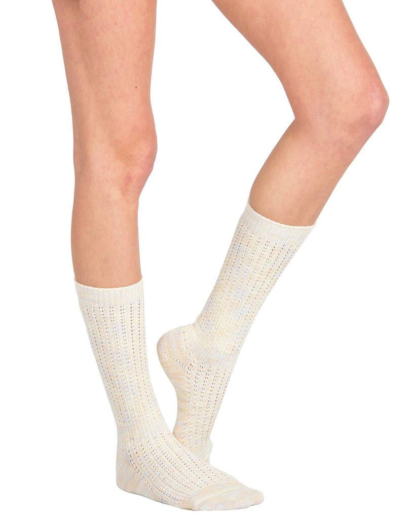 Sherbet Knee High Socks - Peach - 2020AVE