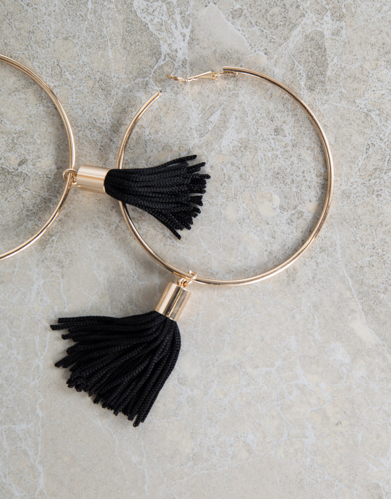 Shifting Tassel Earrings - 2020AVE