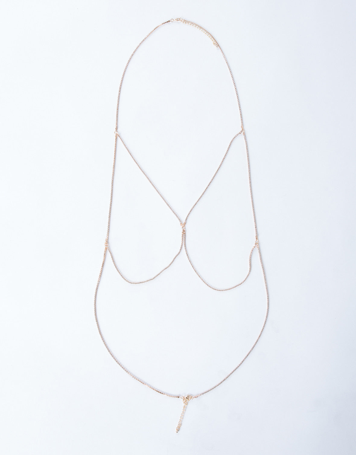 Shimmery Body Chain