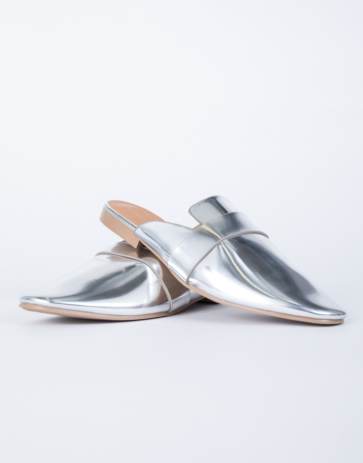 Shine on Loafer Slides