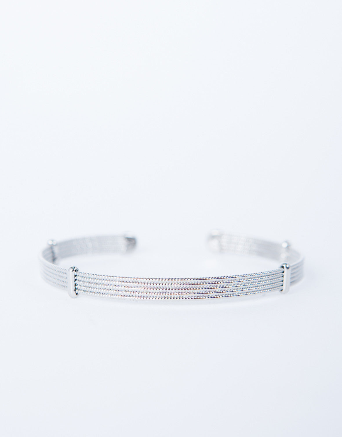 Shiny Thin Cuff Bracelet