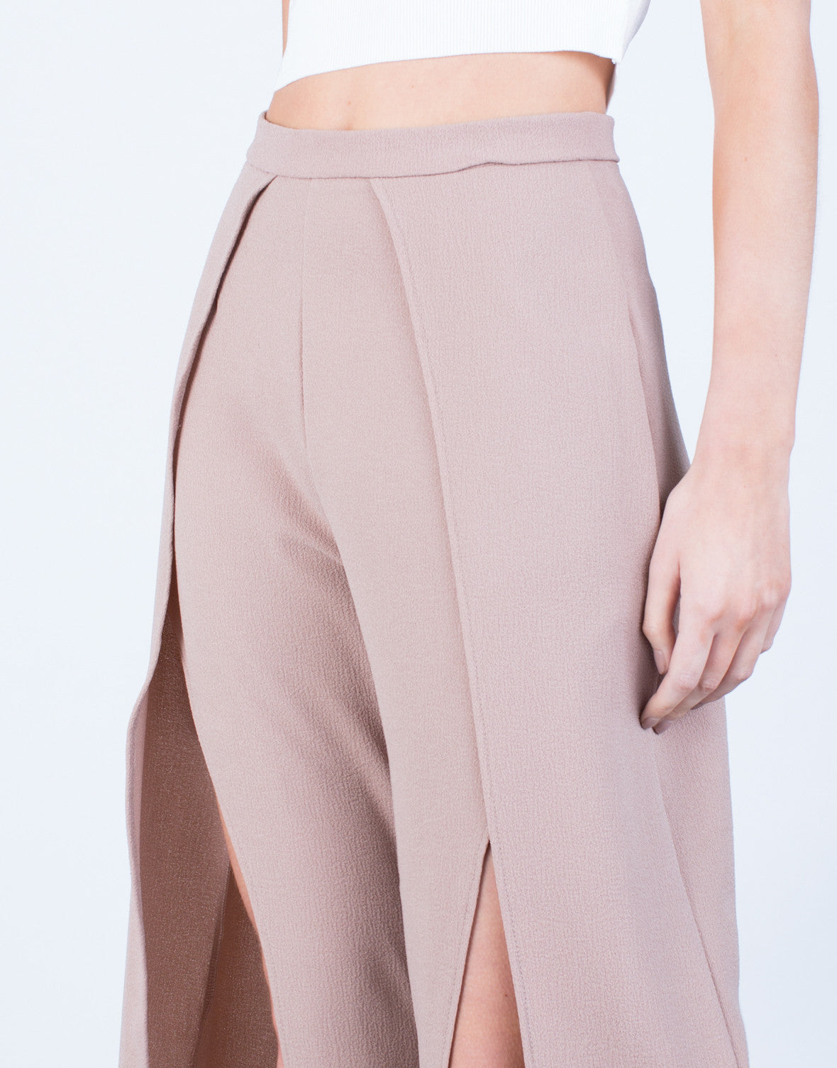 Detail of Show Me Palazzo Pants