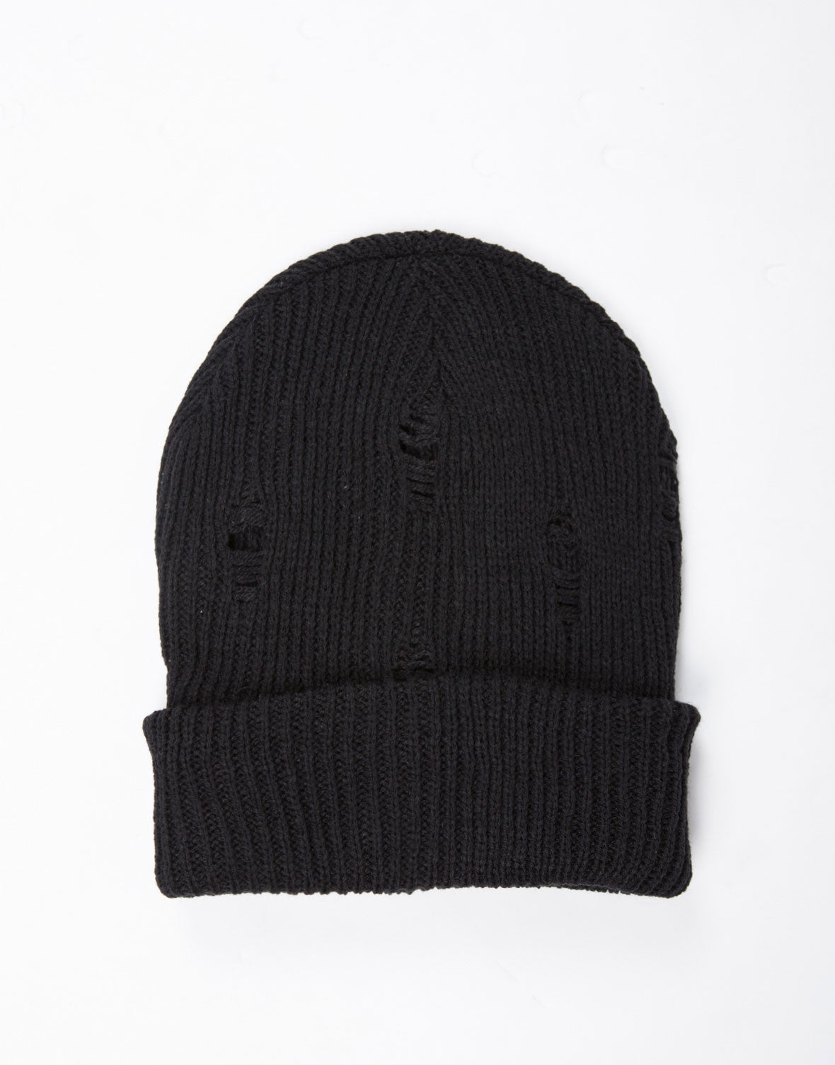 Shredded Knit Beanie - 2020AVE