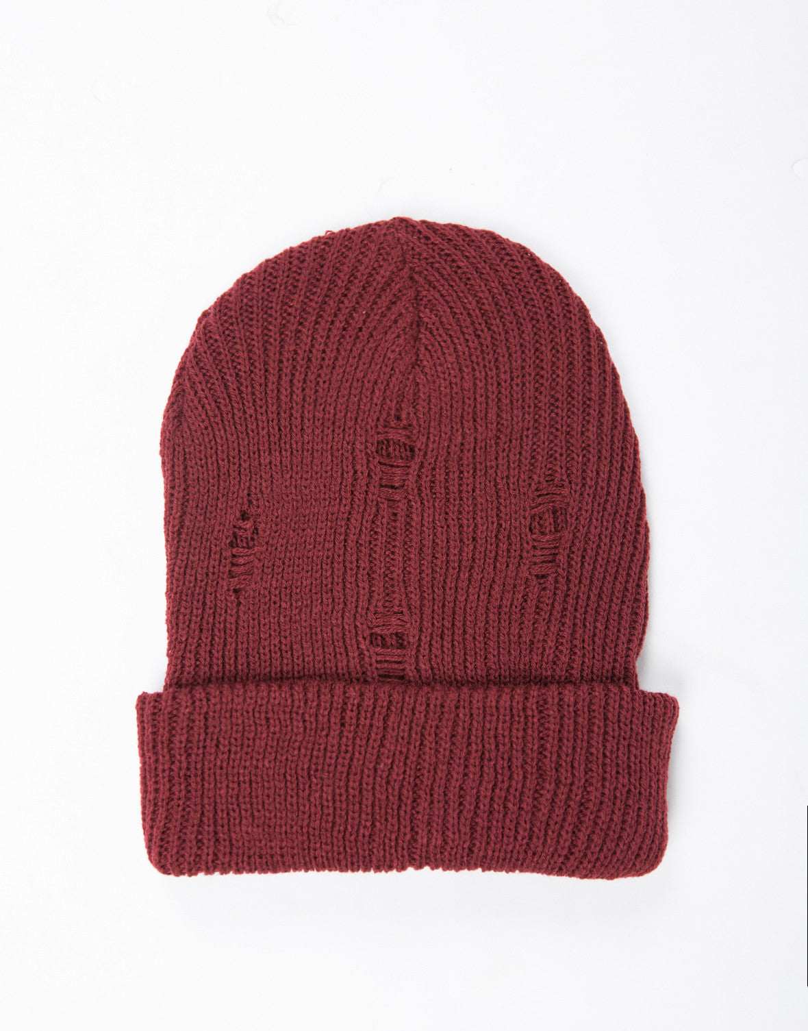 Shredded Knit Beanie