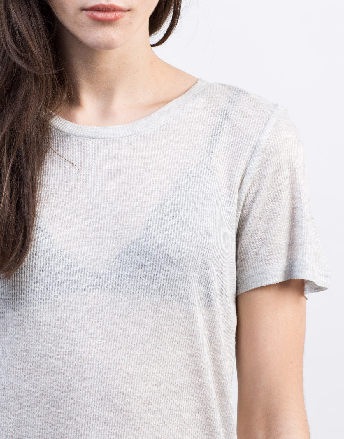 Detail of Side Slit Tee