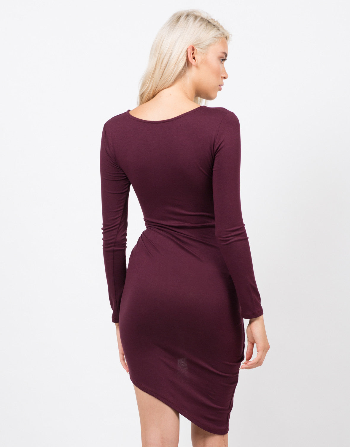 Side Knotted Dress - 2020AVE