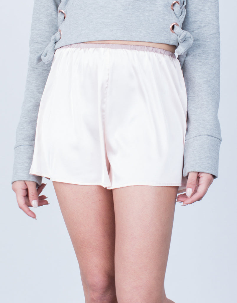 Silky Satin Shorts - 2020AVE