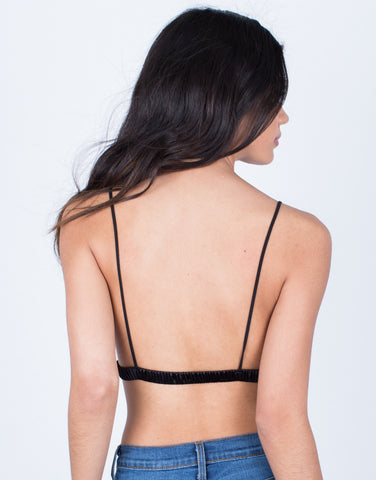 Back View of Silky Smooth Bralette
