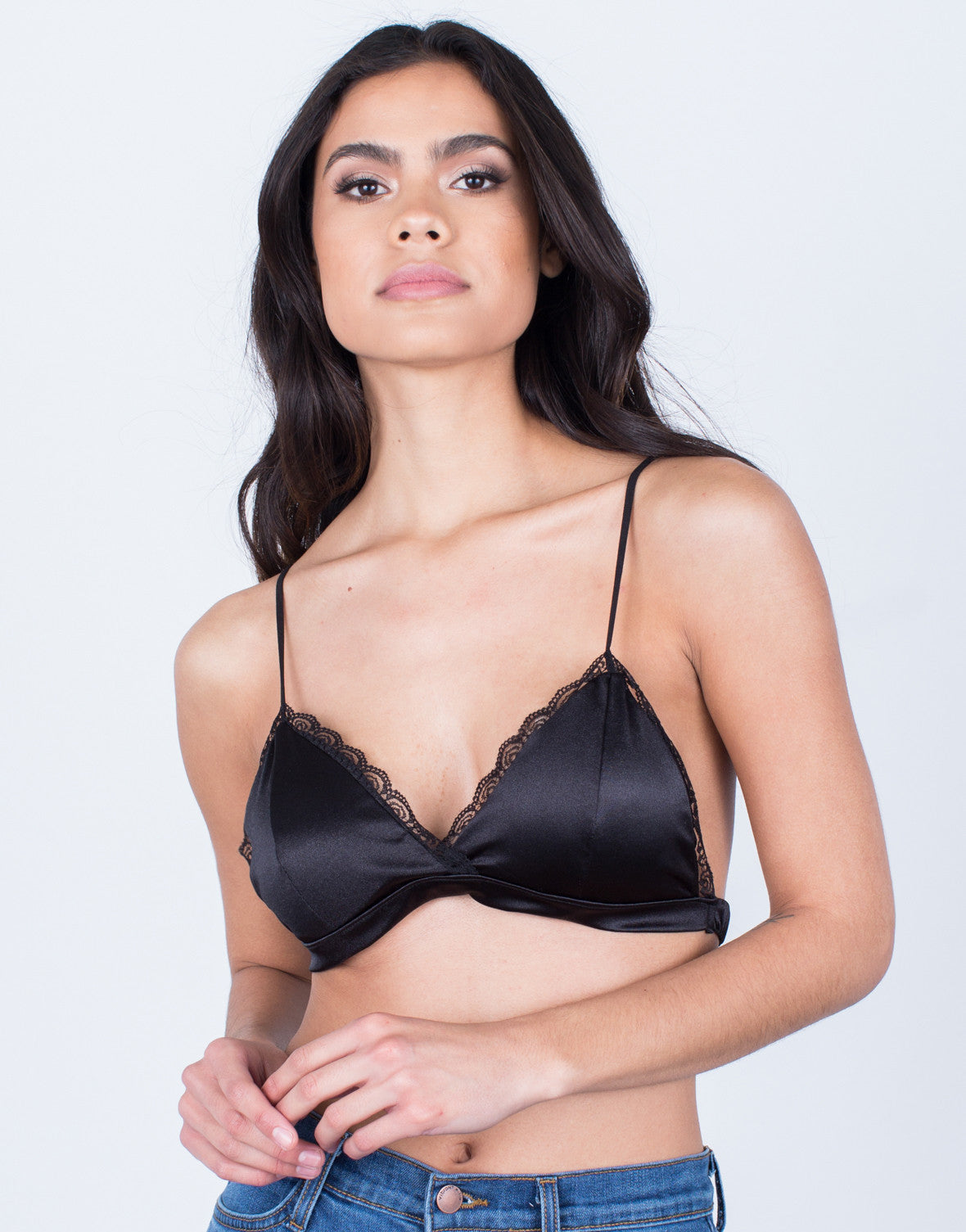 Front View of Silky Smooth Bralette