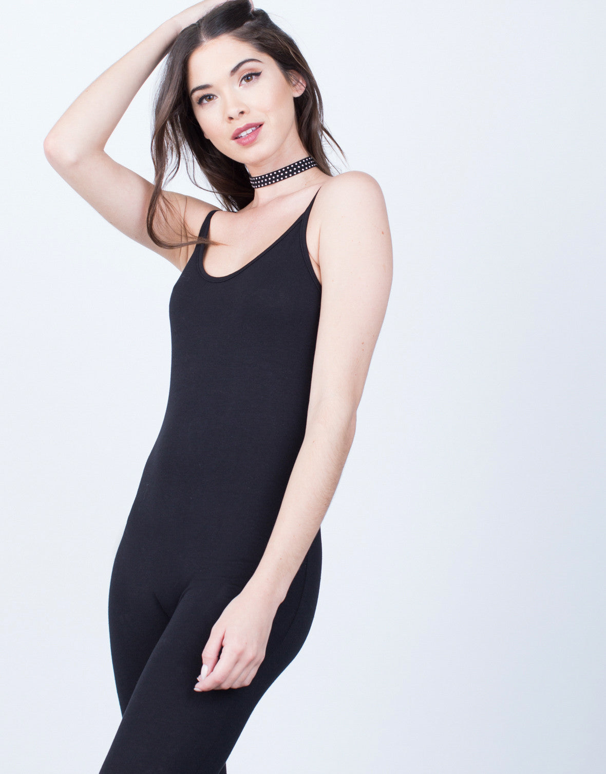 Detail of Simple Cami Jumpsuit