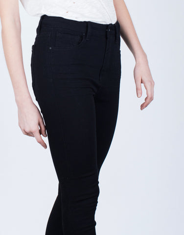 Simple High Waisted Skinny Pants