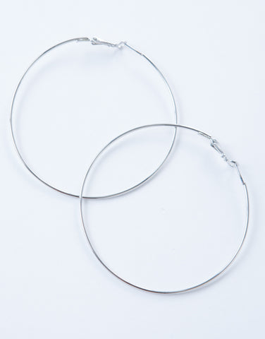 Simple Hoop Earrings