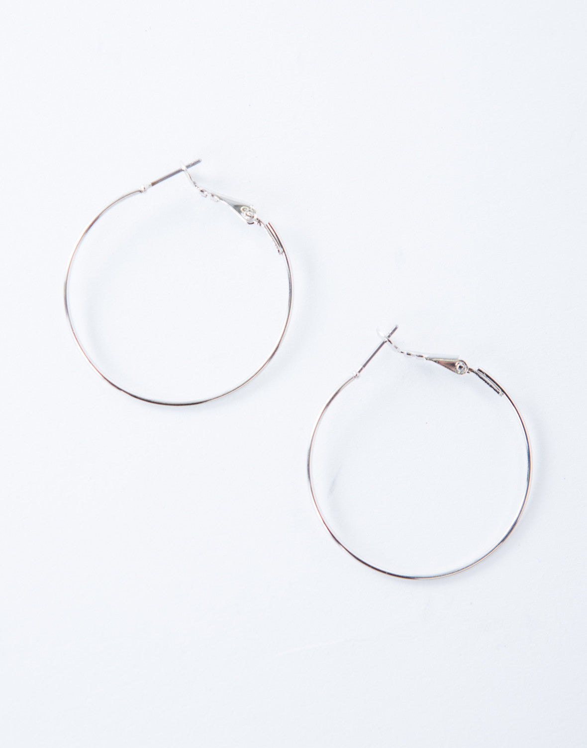Simple Mini Hoop Earrings