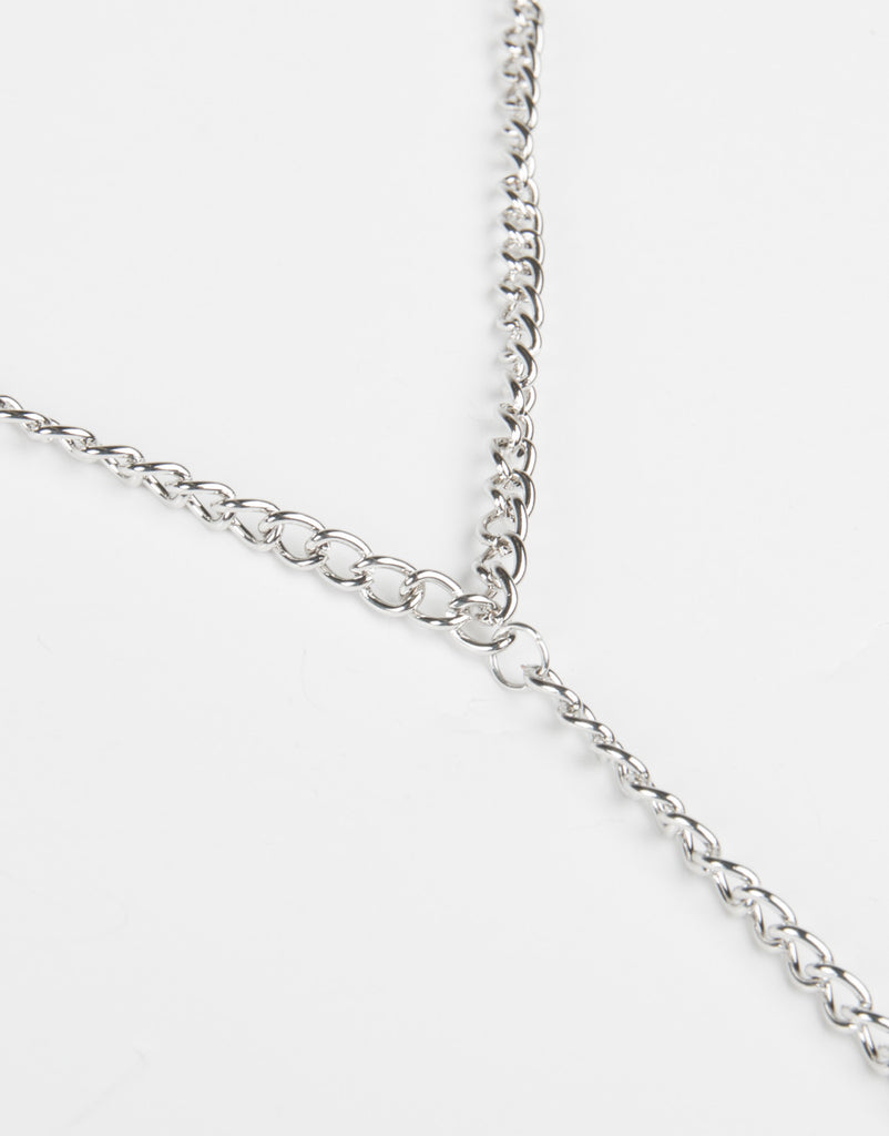 Simple Centered Body Chain - Silver - 2020AVE
