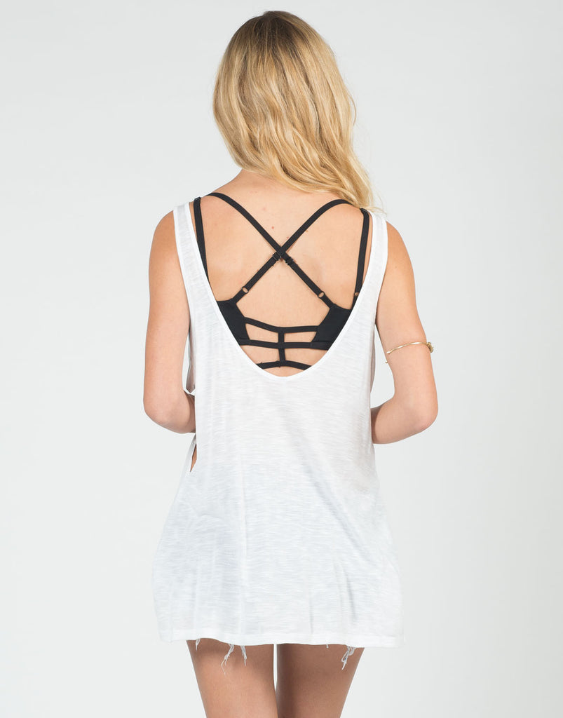 Simple Cut Out Tank - 2020AVE