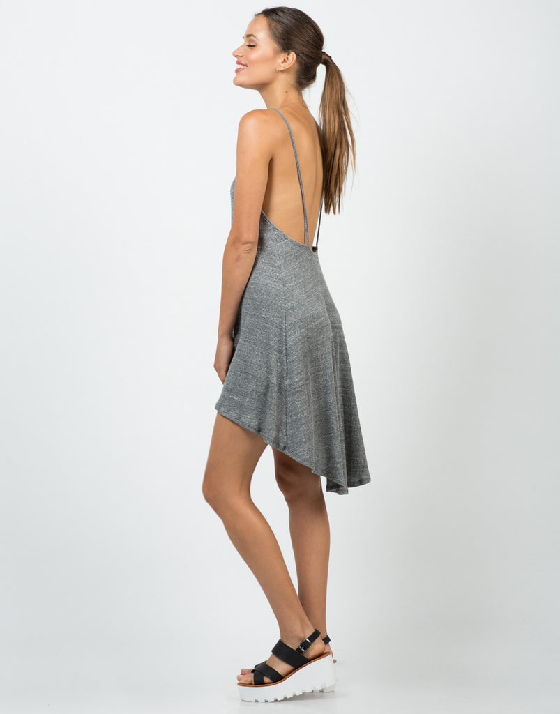 Simple Low Back Tank Dress - 2020AVE