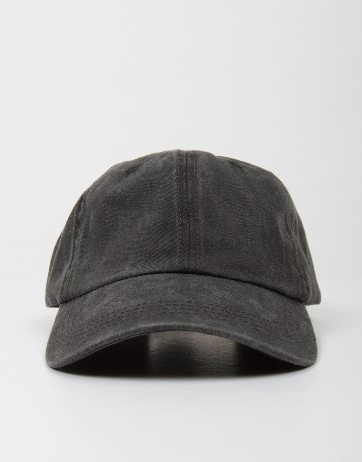 Front View of Simple Sporty Baseball Cap