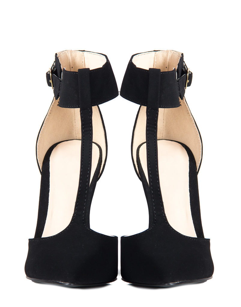 Simple T-Strap Pumps - 2020AVE