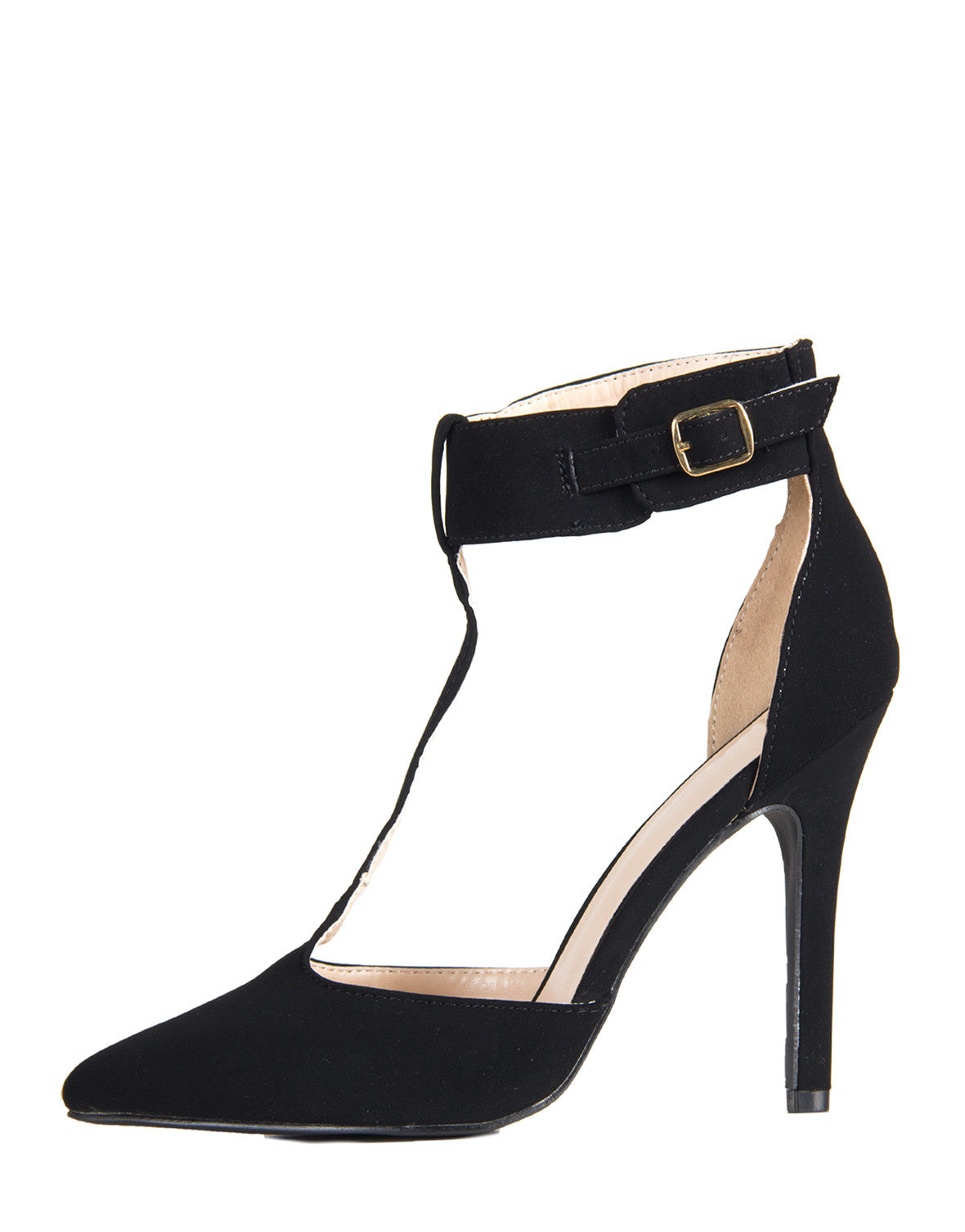 Simple T-Strap Pumps