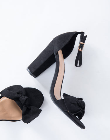 Simply Classic Bow Heels