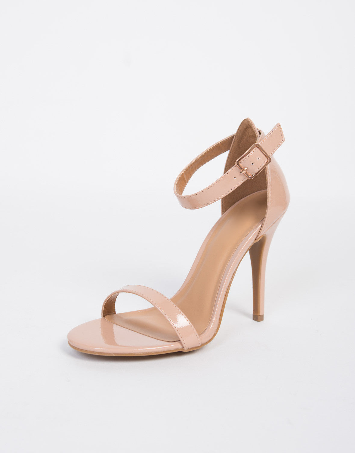 Single Banded Patent Heels