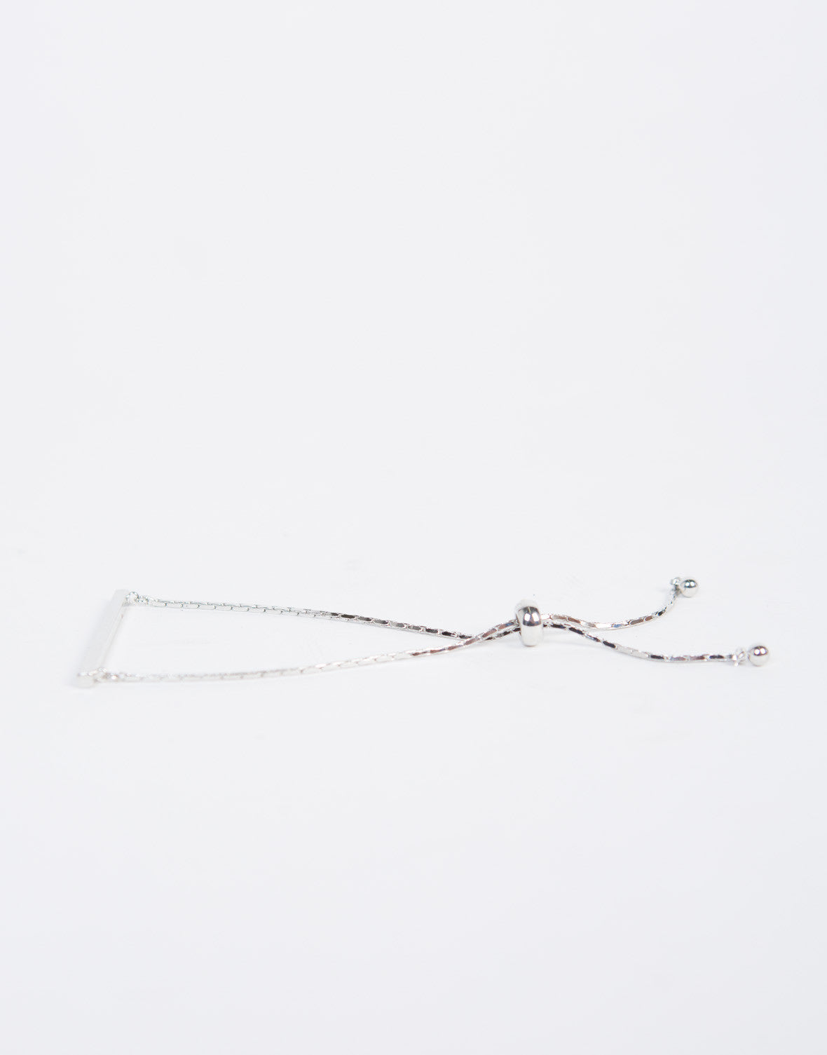 Single Bar Chained Bracelet