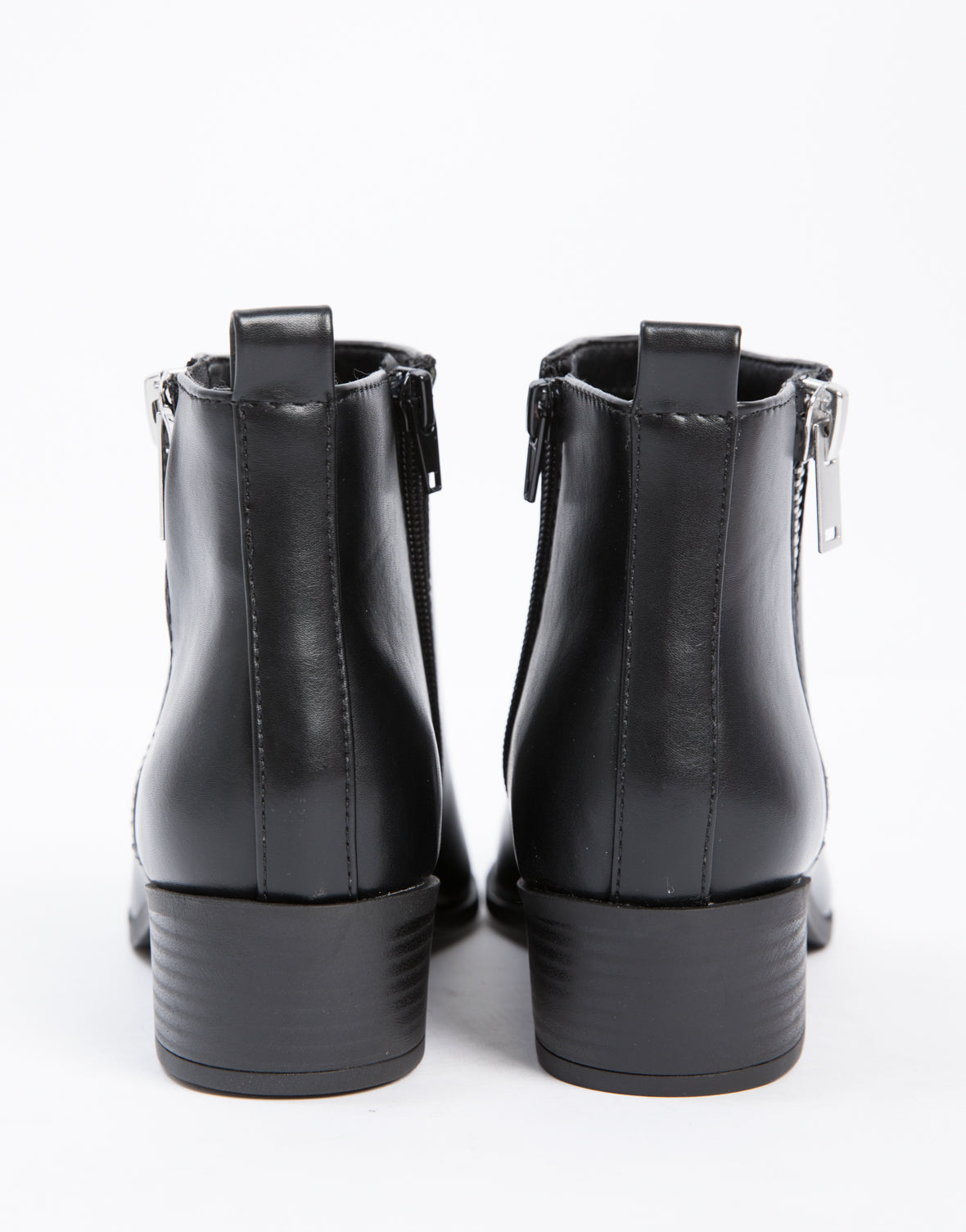 Side Zipper Booties