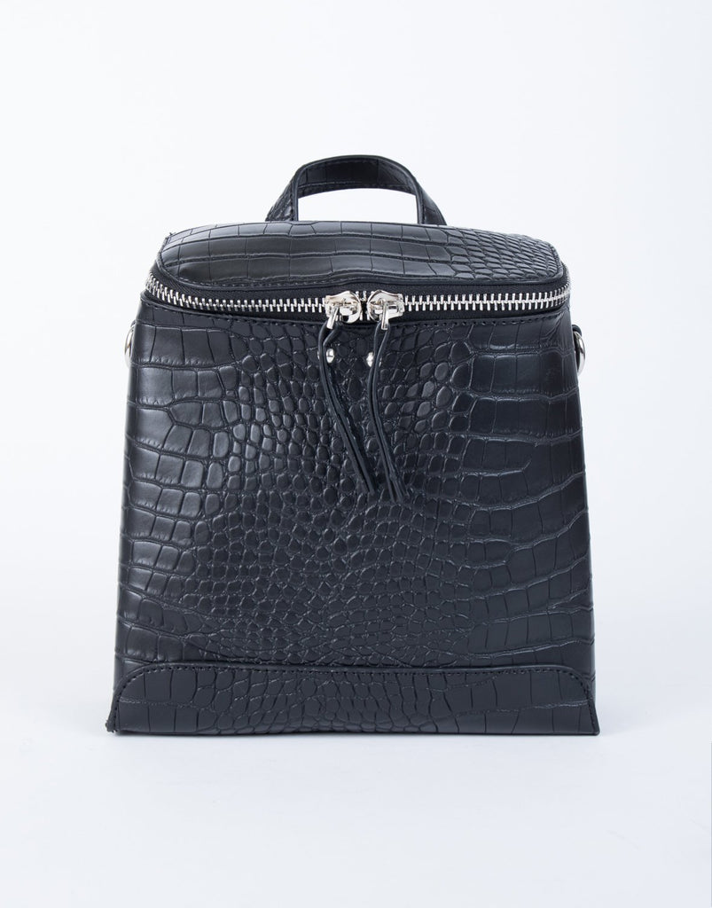 Snakeskin Mini Backpack - 2020AVE