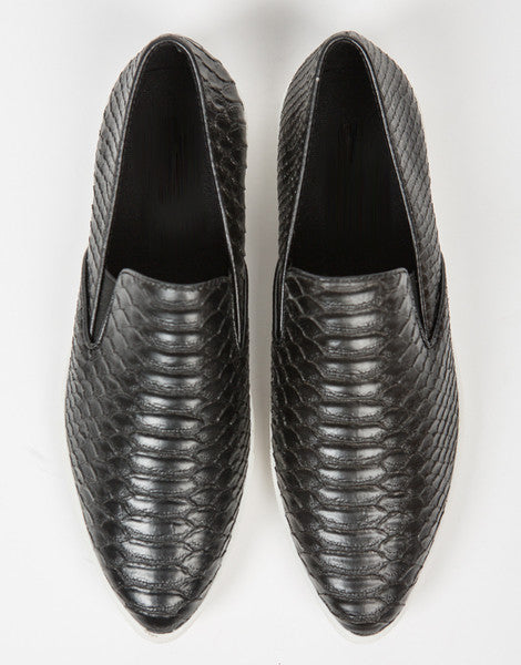 Snake Skin Slip On Sneakers - 2020AVE