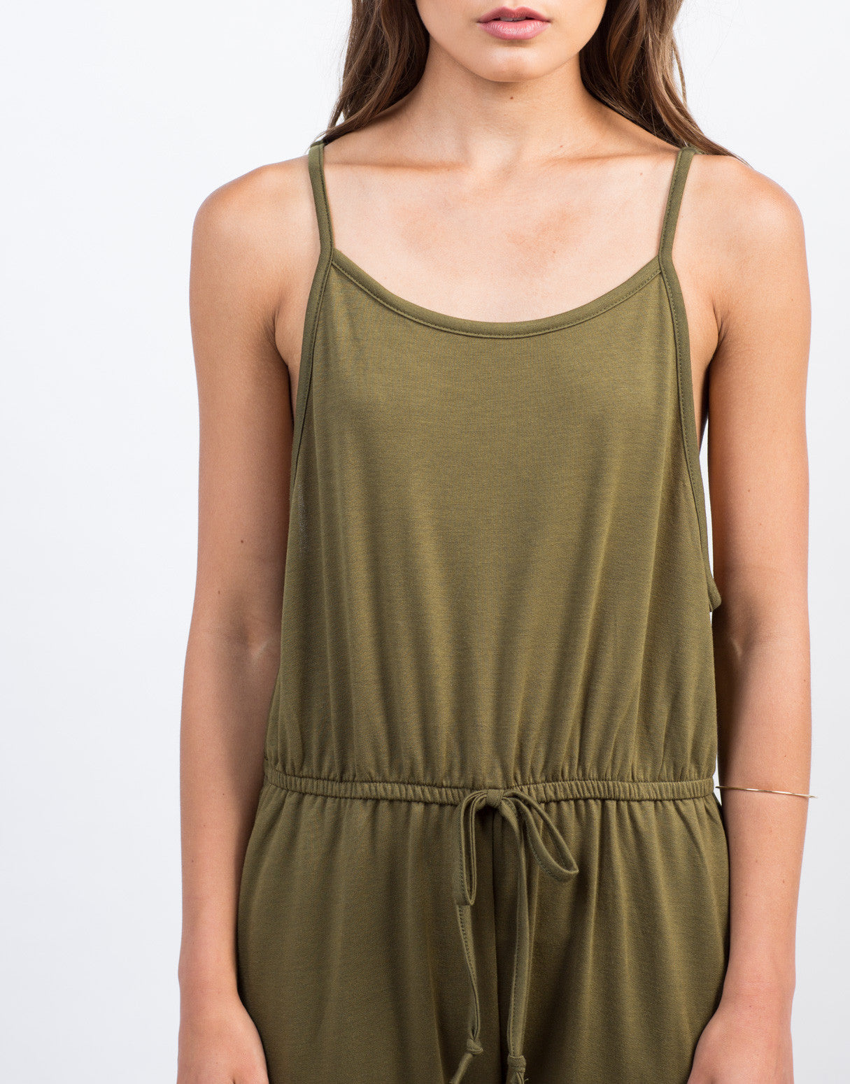 Detail of Soft Cami Jumpsuit