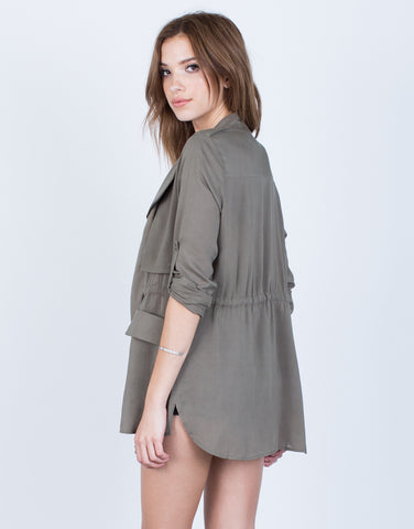 Soft Drawstring Jacket - 2020AVE