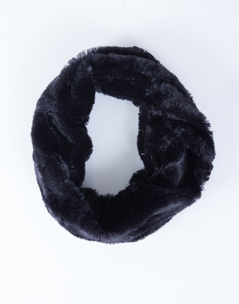 Soft Fur Infinity Scarf - 2020AVE